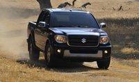 2011 Suzuki Equator, Front View. , exterior, manufacturer
