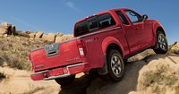 2011 Nissan Frontier, Back View. , exterior, manufacturer