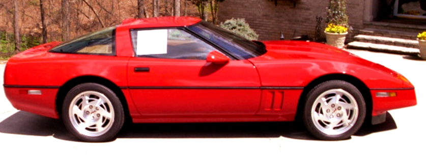 1990 Chevrolet Corvette ZR1, Picture of 1990 Chevrolet Corvette 2 Dr ZR1 Hatchback, exterior