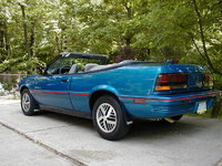 1992 Pontiac Sunbird 2 Dr SE Convertible, 102,000 miles, never wrecked, no dents, perfect example., exterior, gallery_worthy