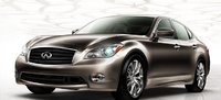 2012 Infiniti M56, Front View of the Infiniti M Class. , exterior, manufacturer