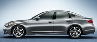 2012 INFINITI M56, Side View. , exterior, manufacturer