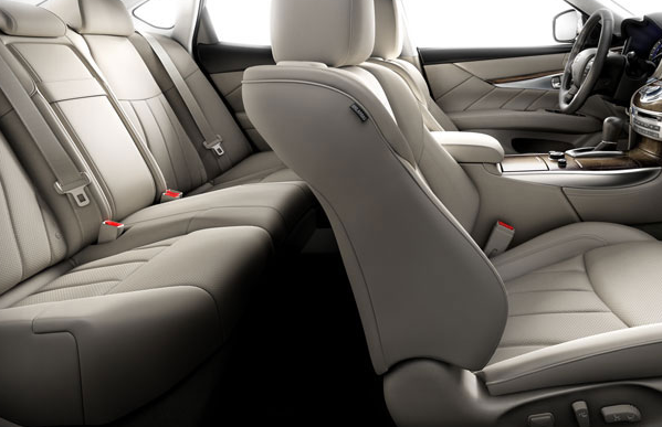 2012 Infiniti M56, Front and back seats. , interior, manufacturer