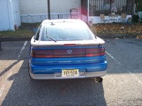 1990 Eagle Talon 2 Dr TSi Turbo AWD Hatchback, My nice megan racing turbo back exhaust 3in all the way., exterior