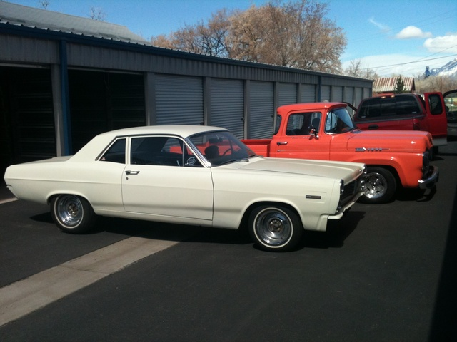 1967 Mercury Comet, My car next to one of my dad's. 1960 Ford Pickup., exterior, gallery_worthy