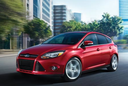 2012 Ford Focus, Front View. , manufacturer, exterior