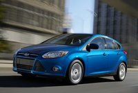 2012 Ford Focus, Front quarter view. , manufacturer, exterior