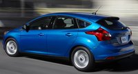 2012 Ford Focus, Back View. , exterior, manufacturer