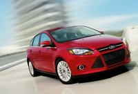 2012 Ford Focus, Front View. , exterior, manufacturer