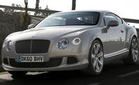 2012 Bentley Continental GT, Front quarter view. , manufacturer, exterior