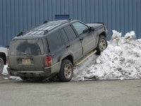 1996 Jeep Grand Cherokee Limited, This is my wonderful parking at school, exterior