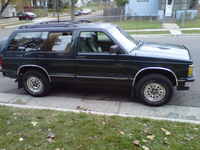 Picture of 1993 Chevrolet S-10 Blazer 4 Dr STD 4WD SUV, exterior