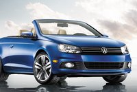 2012 Volkswagen Eos, Front View Convertable. , exterior, manufacturer