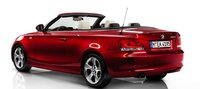 2012 BMW 1 Series, Back quarter view of 1-series convertible. , exterior, manufacturer
