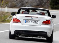 2012 BMW 1 Series, Back View of 1-series convertible. , exterior, manufacturer