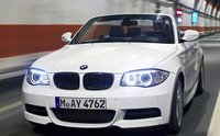 2012 BMW 1 Series, Front quarter view of 1-series convertible. , manufacturer, exterior