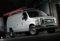 2011 Ford E-Series Cargo, Front quarter view. , exterior, manufacturer