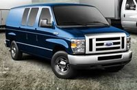 2011 Ford E-Series Cargo, Front View. , exterior, manufacturer