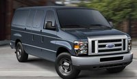 2011 Ford E-Series Passenger, Front three quarter view. , exterior, manufacturer