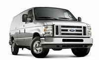 2011 Ford E-Series Passenger, Front quarter view. , exterior, manufacturer