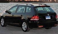2010 Volkswagen Jetta SportWagen, Back View. , exterior, manufacturer