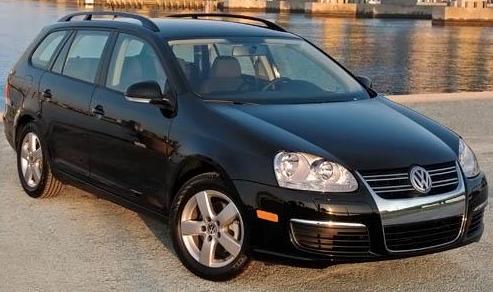 2010 Volkswagen Jetta SportWagen, Front quarter view. , exterior, manufacturer