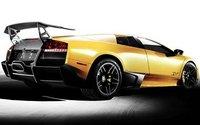 2010 Lamborghini Murcielago, Back quarter view. , exterior, manufacturer