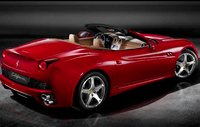 2010 Ferrari California, Back quarter view. , exterior, manufacturer