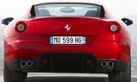 2010 Ferrari 599 GTB Fiorano, Back View., exterior, manufacturer
