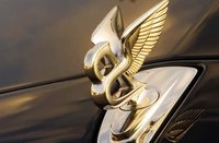 2010 Bentley Brooklands, Close-up of Bentley ornament. , exterior, manufacturer