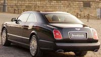 2010 Bentley Brooklands, Back quarter view. , exterior, manufacturer