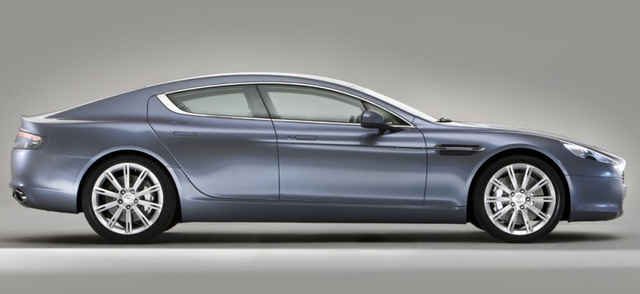 Aston Martin Rapide, Side View. , exterior, manufacturer