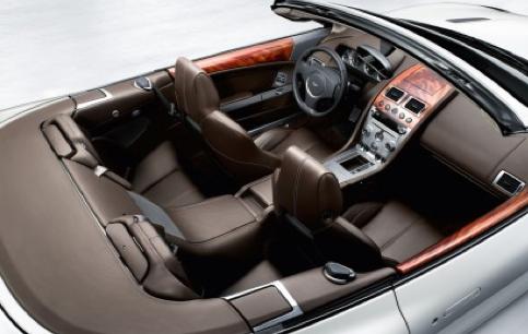Aston Martin Vanquish Back Seat
