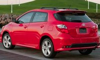 2011 Toyota Matrix, Back quarter view. , exterior, manufacturer