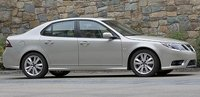 2011 Saab 9-3, Side View. , exterior, manufacturer