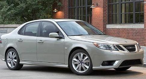 2011 Saab 9-3, Front quarter view. , exterior, manufacturer