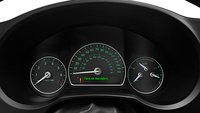 2011 Saab 9-3, Close-up of instrument gages. , interior, manufacturer, gallery_worthy