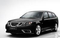 2011 Saab 9-3 SportCombi, Front quarter view. , exterior, manufacturer