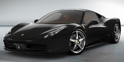 2010 Ferrari 458 Italia Base, My 2010 Ferrari 458 Italia - Black, exterior, gallery_worthy