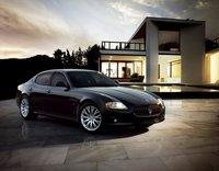 2011 Maserati Quattroporte, Front quarter view. , exterior, manufacturer