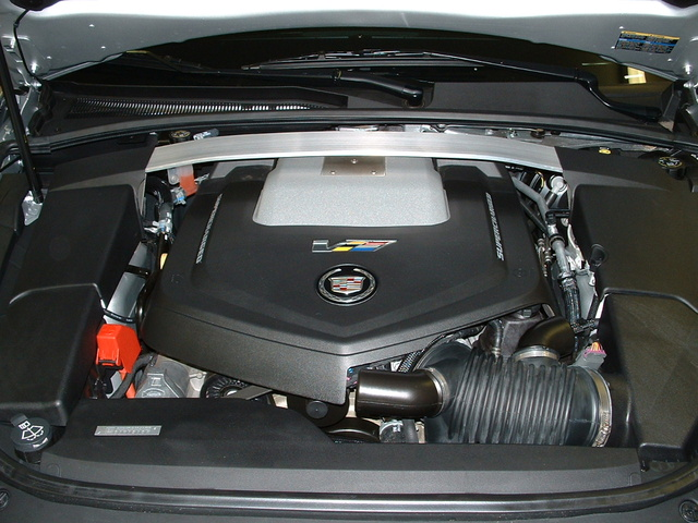 Picture of 2009 Cadillac CTS-V RWD, engine, gallery_worthy