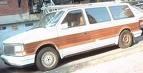 1990 Chrysler Town & Country Base, amazing car, exterior