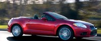 2012 Mitsubishi Eclipse Spyder, Side View. , exterior, manufacturer