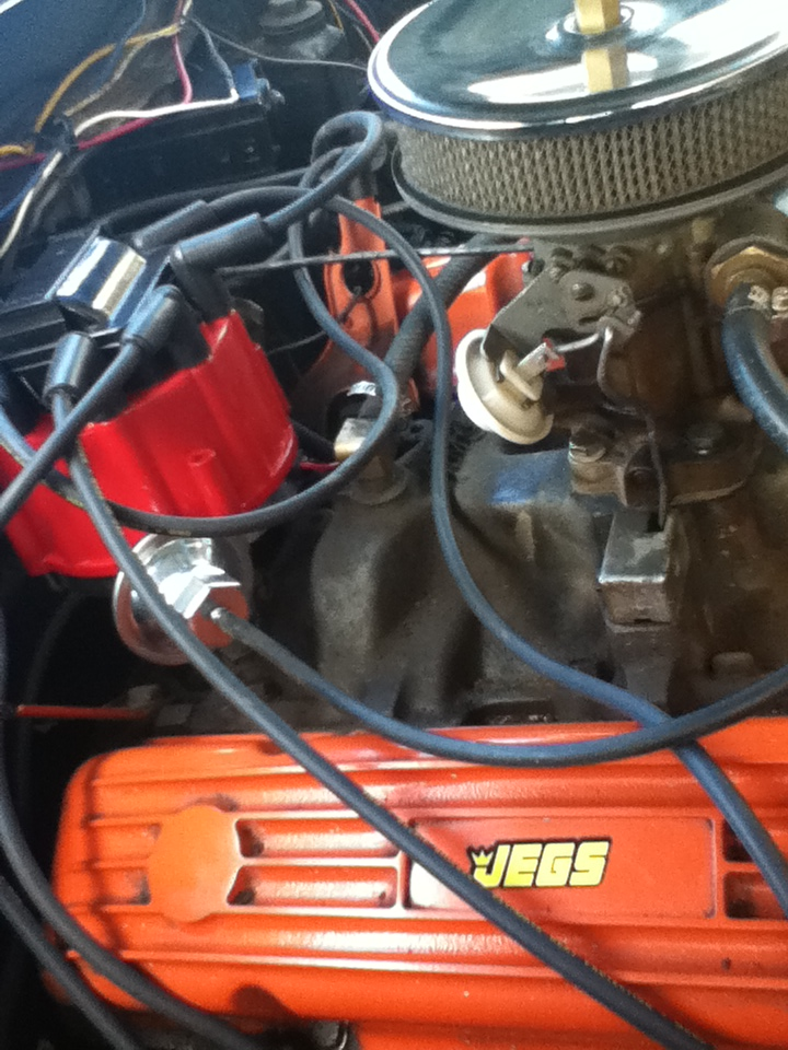 Picture of 1961 Chevrolet Bel Air, engine