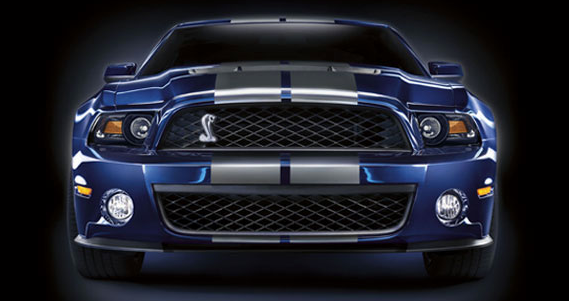2012 Ford Shelby GT500, Front View., exterior, manufacturer