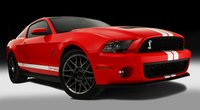 2012 Ford Shelby GT500, Front quarter view. , manufacturer, exterior