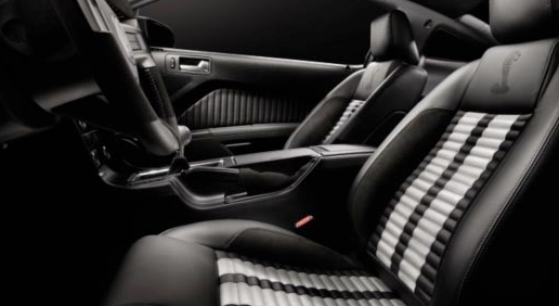 2012 Ford Shelby GT500, Front Seat. , interior, manufacturer