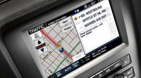 2012 Ford Shelby GT500, Close-up of Navigation System., manufacturer, interior