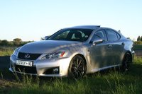 2010 Lexus IS F Base, 5.0 L V8 under that bulging bonnet, exterior