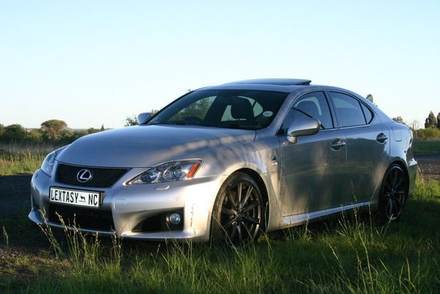 2010 Lexus IS F RWD, 5.0 L V8 under that bulging bonnet, exterior, gallery_worthy